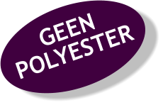 button geen polyester